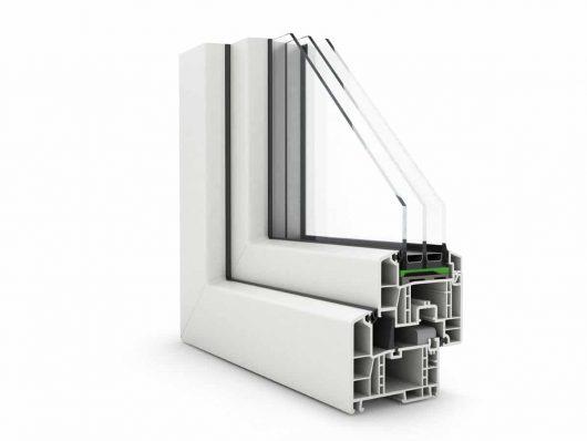 profil plastové okno