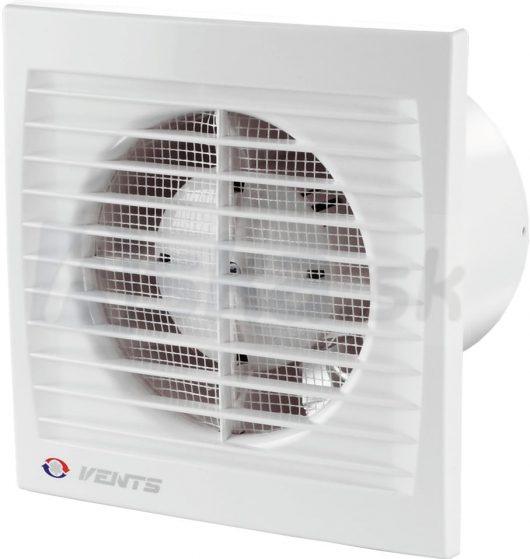 axiálny kúpeľňový ventilátor