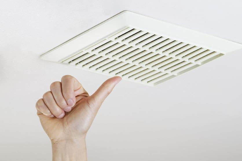 kúpeľňový ventilátor