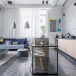 Je obývačka s kuchyňou praktická alebo nie?