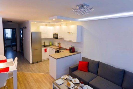 obývačka kuchyňa