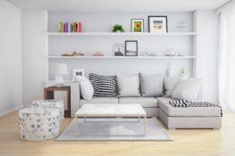 obývačky inšpirácie