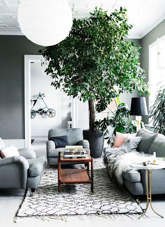 obývačka inšpirácia