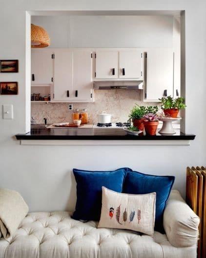 diera v stene kuchyňa