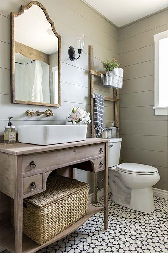 kúpeľňa v provensálskom štýle