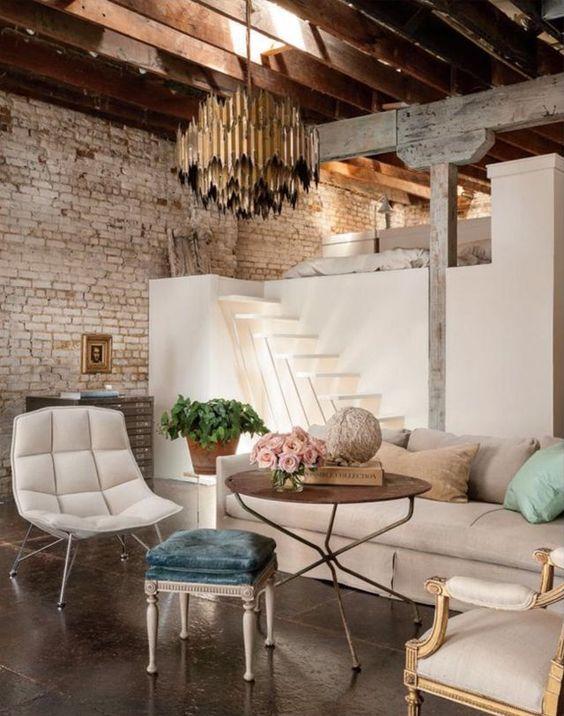Moderný industriálny štýl bývania má dostatočne otvorený koncept aj vďaka  nábytku a doplnkom 5b9485554eb