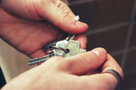 kľúče od bytu