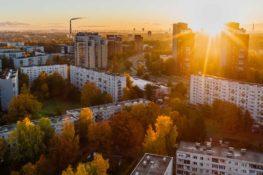 sídlisko západ slnka