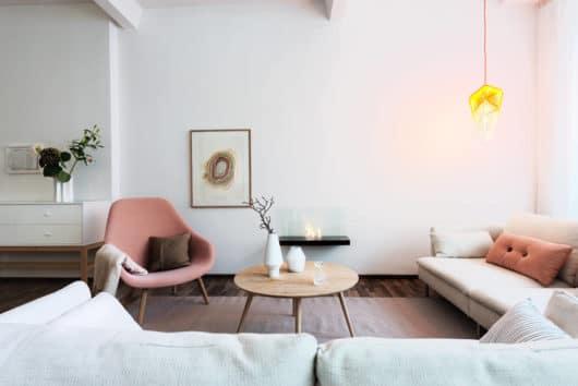 škandinávský nábytok