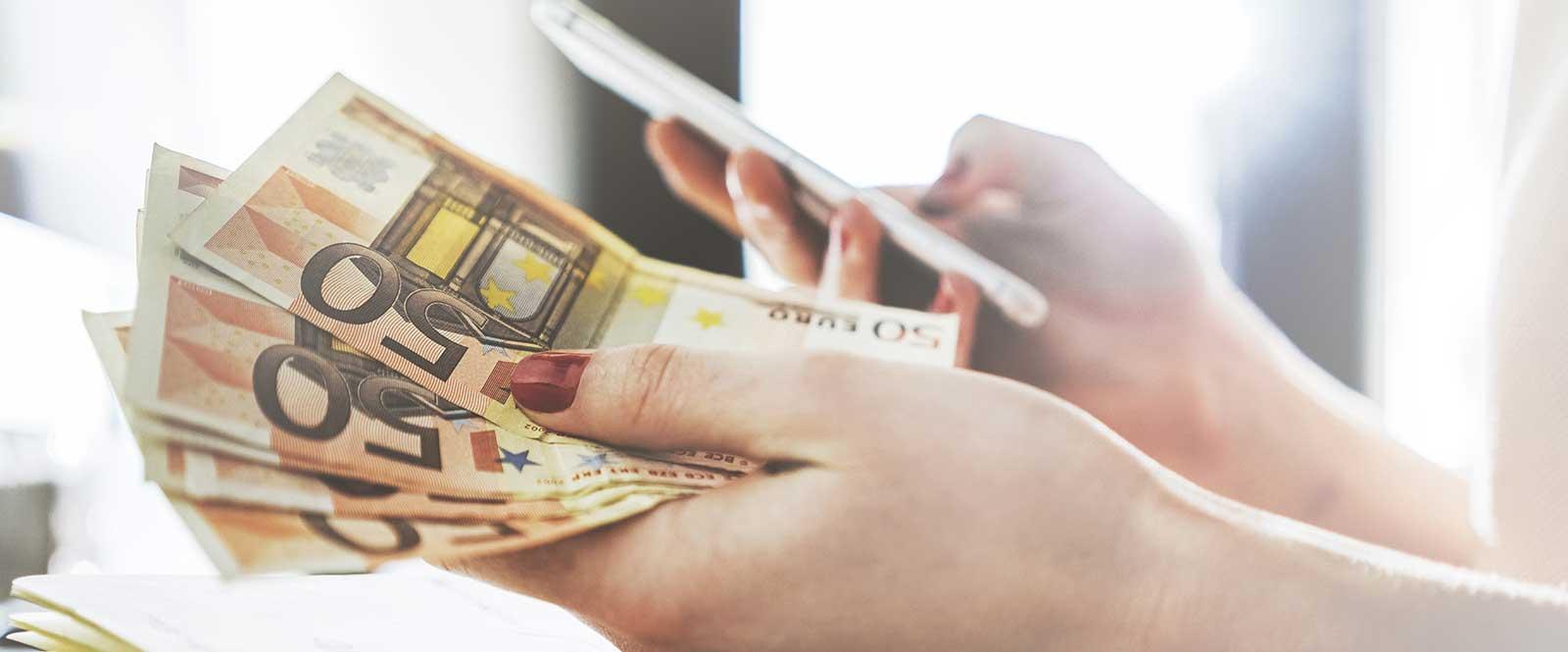 50 eurovky peniaze