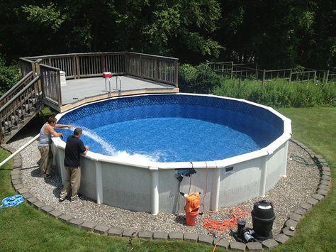 montovaný bazén
