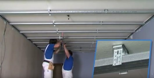 montáž sadrokartónu