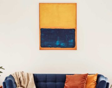 obraz v obývačke
