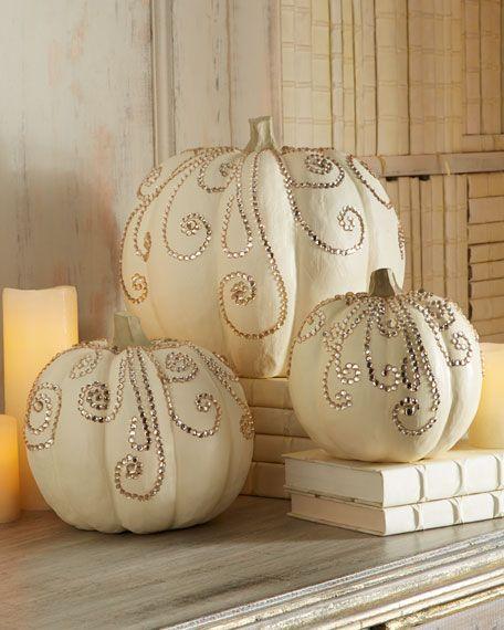 halloweenske tekvice