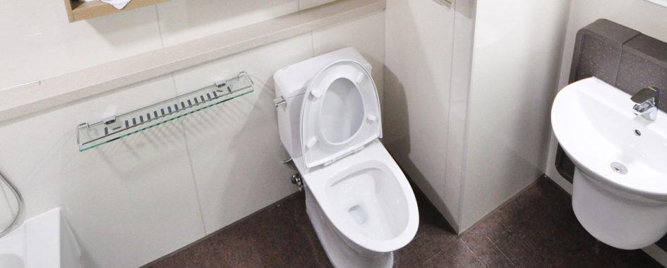 upchatý záchod