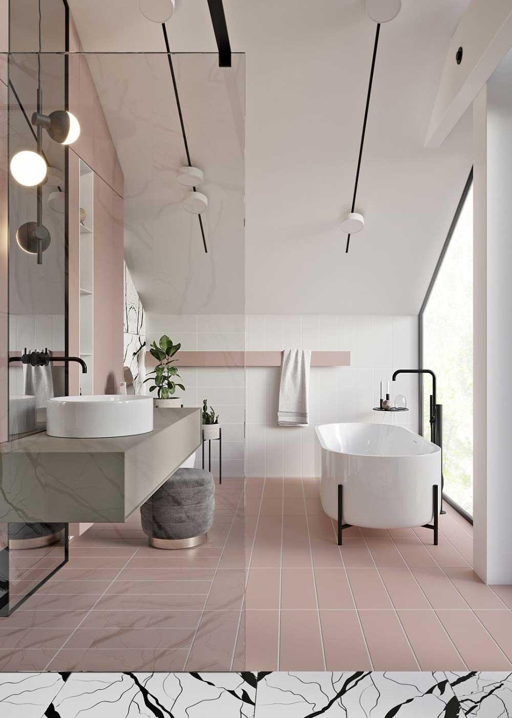 kúpeľňové trendy