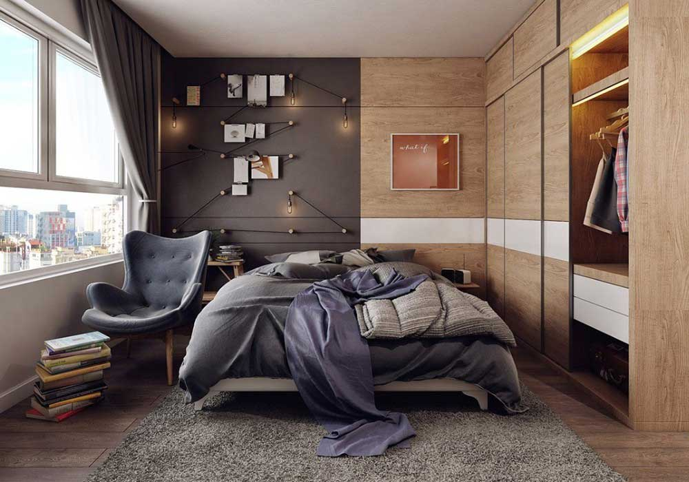 moderné spálne