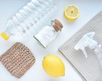 domáci čistiaci prostriedok