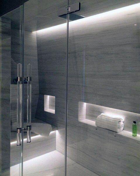 akcentové svetlo v kúpeľni