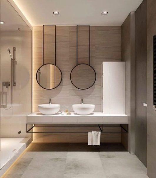 ambientné svetlo v kúpeľni