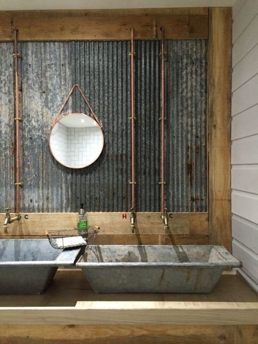 industriálne umývadlo