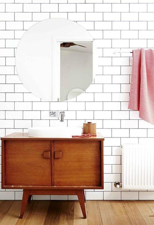 Umývadlo v modernom retro štýle