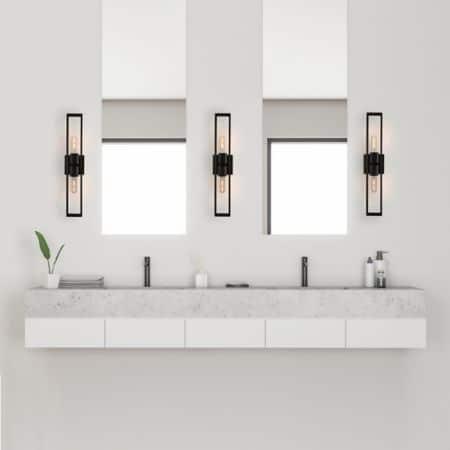 kúpeľňové svetlo k zrkadlu