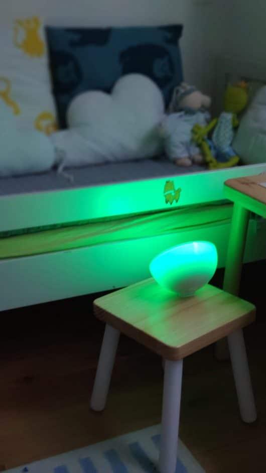 Stolná prenosná lampa